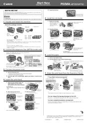Canon PIXMA MP780 Manual