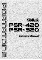 Yamaha PSR-320 Manual