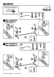 Sony KDL-60R550A Manual