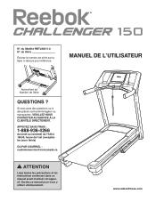 Reebok Challenger 150 Treadmill Manual