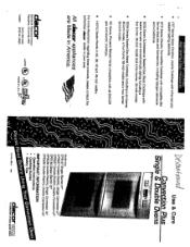Dacor CPD230 Manual