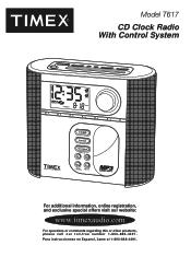 Timex T617S Manual