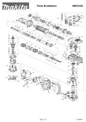 Makita HM1214C Manual
