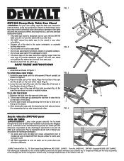 Dewalt DW7450 Manual