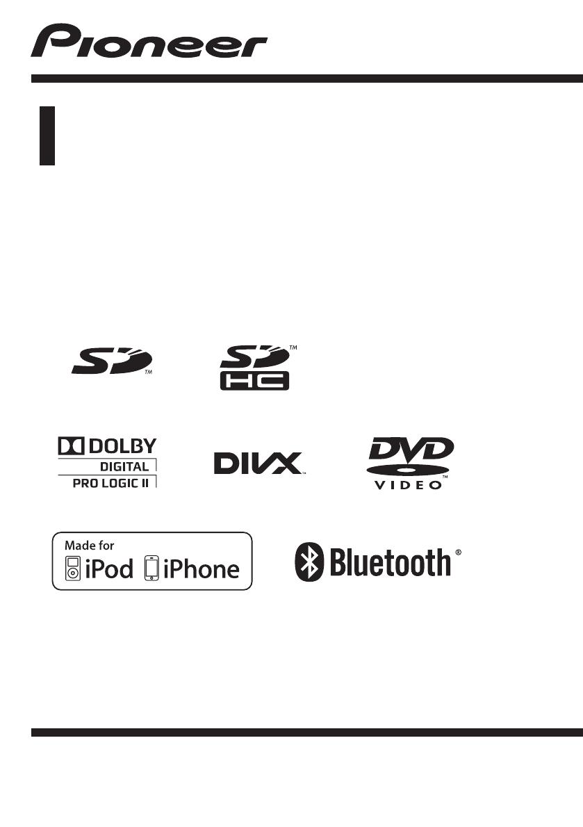 Manual de instruções Pioneer AVH-P5350DVD (120 páginas)