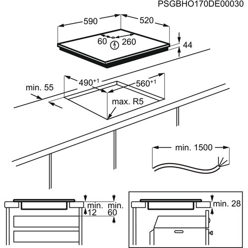 Manual Electrolux EIT60336CK (44 páginas)