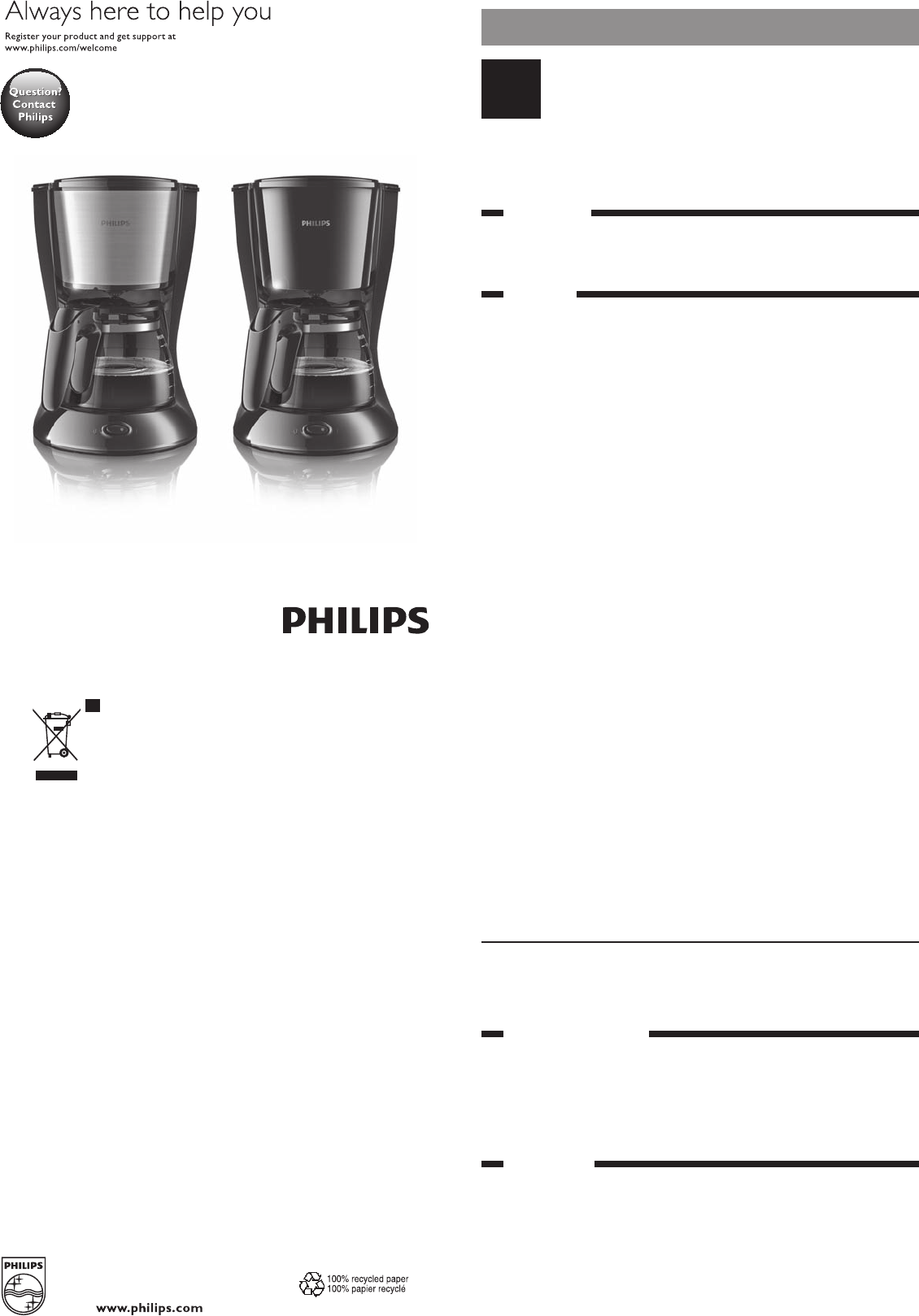 Manual Philips Daily Collection HD7457 (6 páginas)