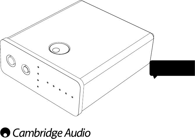 Manual Cambridge Audio DacMagic 100 (23 páginas)