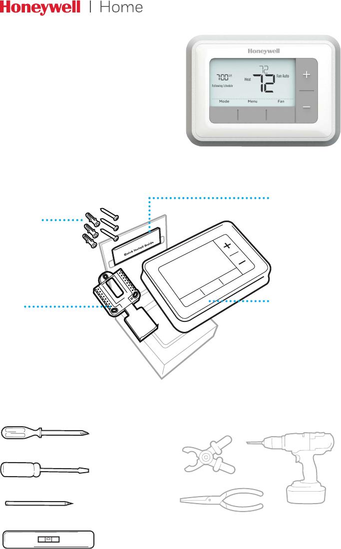 Manual Honeywell RTH7560E (40 páginas)
