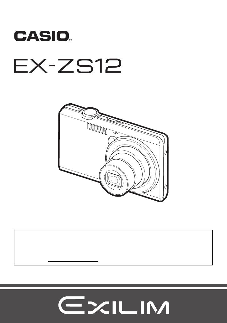 Manual Casio Exilim EX-ZS12 (136 páginas)