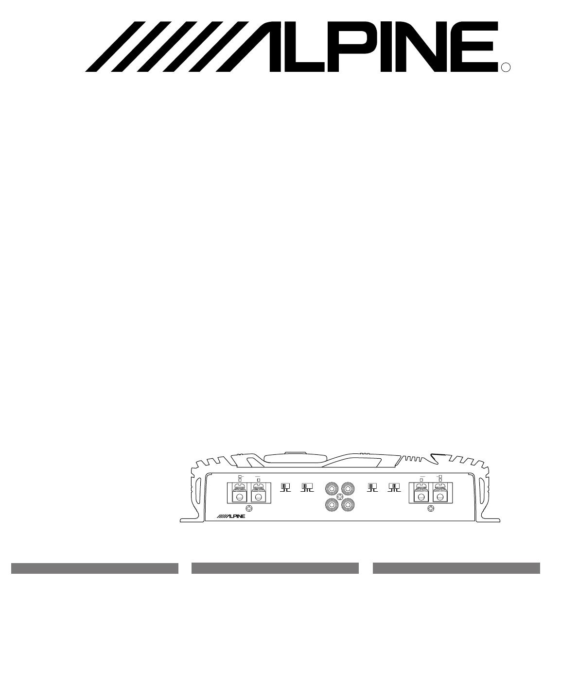 Manual Alpine MRV-F407 (24 páginas)