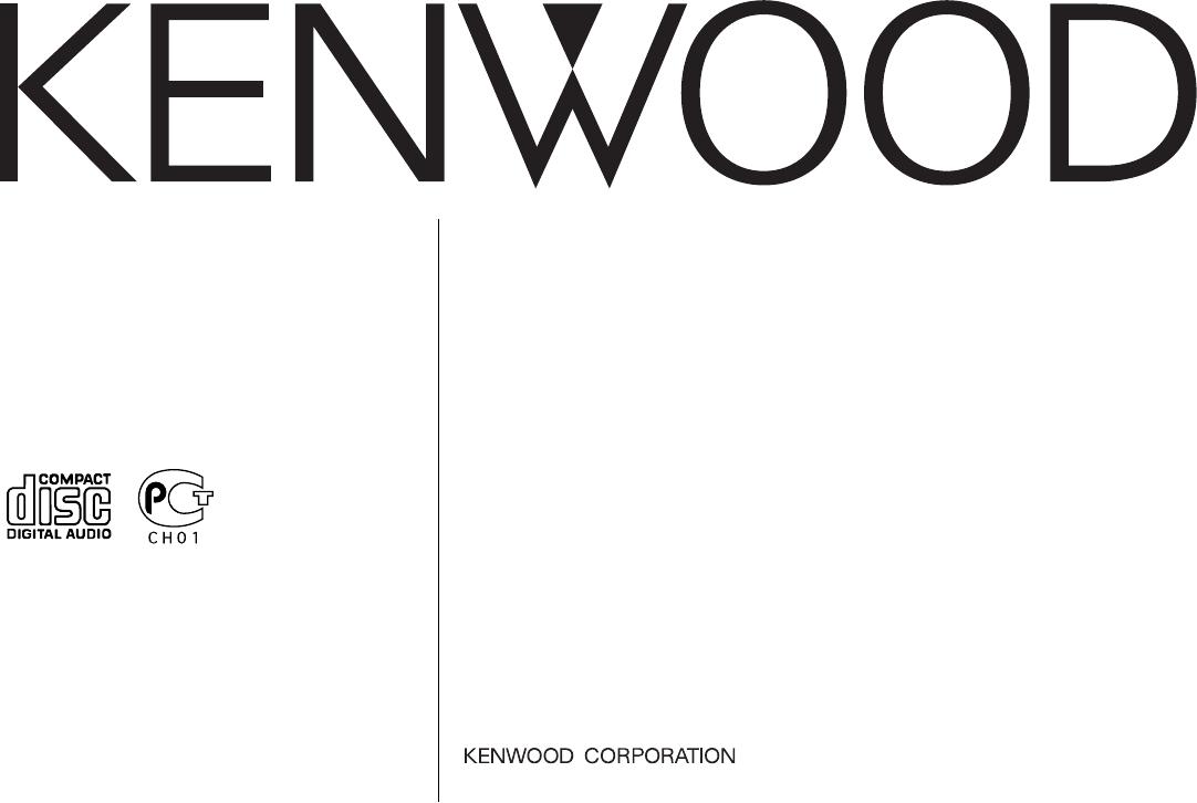 Bedienungsanleitung Kenwood Kdc Bt45u