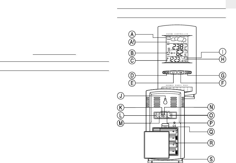 Manual Oregon Scientific BAR112HG (15 páginas)