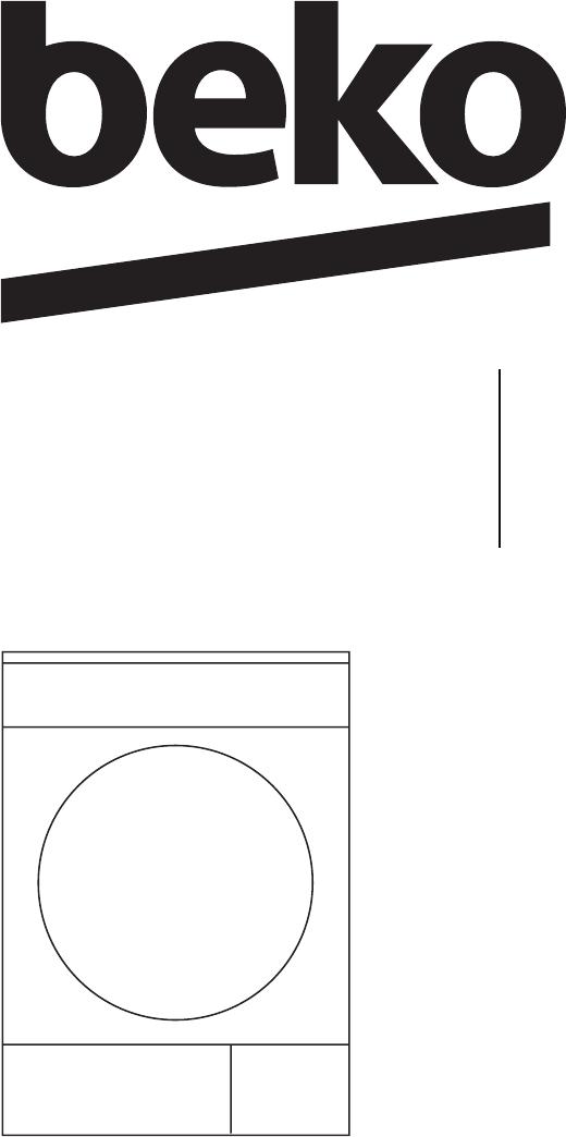 Manual Beko DCU 8330 (64 páginas)