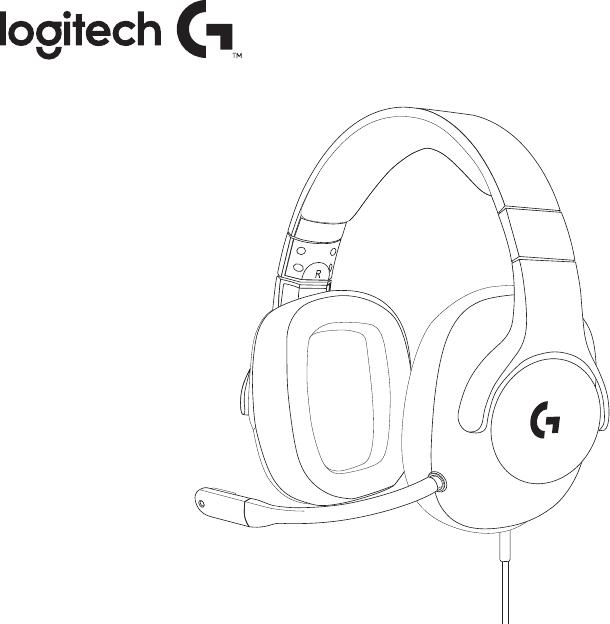 Manual Logitech G433 (88 páginas)