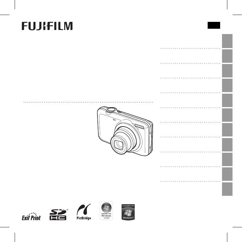 Manual Fujifilm FinePix JX420 (110 páginas)