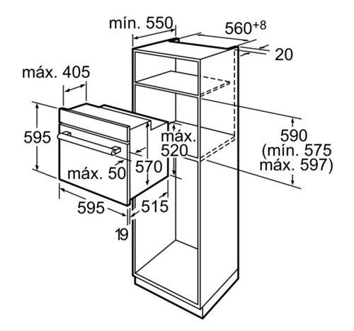 Manual de instruções Siemens HB43AS555E (48 páginas)