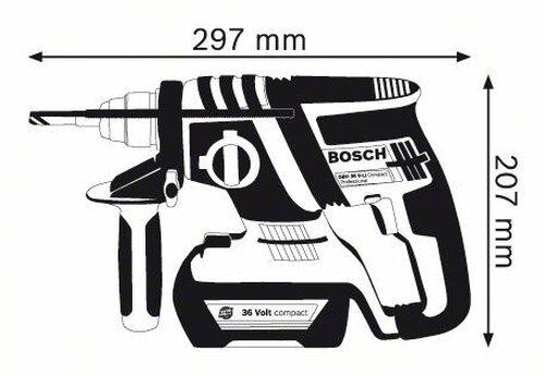 Manual de instruções Bosch GBH 36 V-LI Compact (249 páginas)