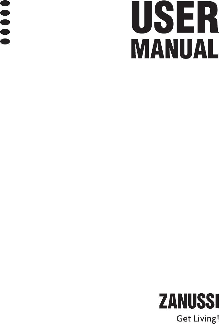 Manual de instruções Zanussi ZDF 222 (76 páginas)