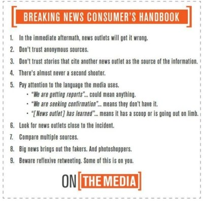 breaking news handbook