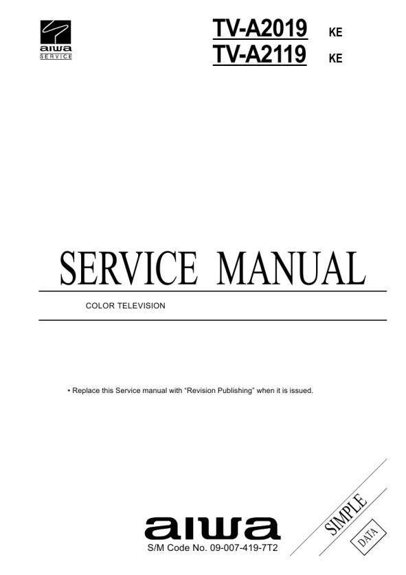 Bestseller: Awa Television Manual