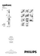 Manuale del Philips Sonicare HX3551