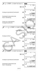 Casio FX-86DE Plus Bedienungsanleitung