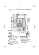 Panasonic KX-T7633 Bedienungsanleitung
