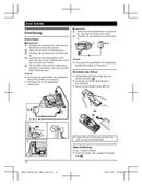 Panasonic KX-TGH220G Bedienungsanleitung