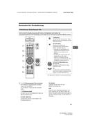 Sony Bravia KD-49XG8388 Bedienungsanleitung