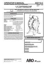 Ingersoll-Rand ARO 637118 C manuals