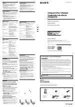 Sony CDX-656 manuals