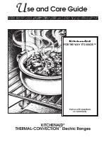 KITCHENAID KERH507 manuals