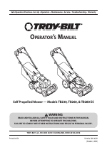 Troy-Bilt TB280 ES manuals