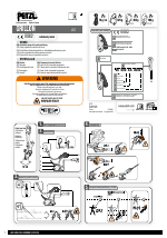 Petzl GRILLON MGO manuals