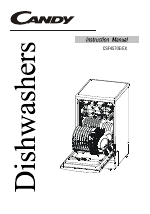 Candy LS CSF 4570 EX manuals