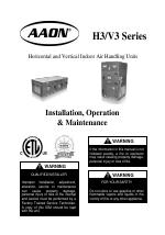 AAON V3-A manuals