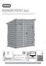 Keter Manor Pent 6x4 manuals