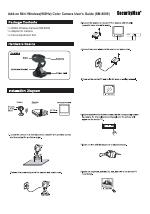 SecurityMan SM-8009 manuals