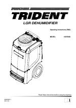 Prochem Trident Dehumidifier manuals