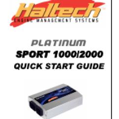Haltech Interceptor Platinum Wiring Diagram Leviton 3 Way Motion Sensor Switch Sport 1000 User Manual 20 Pages Also For 2000