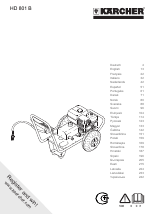 Karcher HD 801 B manuals