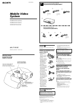 Sony MV-7101DS manuals