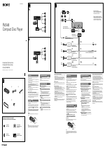Sony CDX-GT25MPW manuals