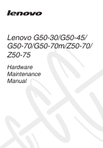 Lenovo Z50-75 manuals