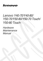 Lenovo Y50-70 manuals