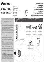 Pioneer VSX-922-K manuals