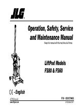JLG LiftPOD FS80 (1001070465) manuals