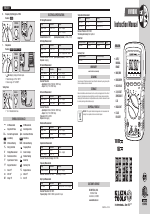 Klein Tools MM1000 manuals