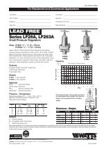 Watts LF263A manuals